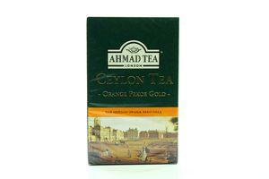 Чай Ahmad Orange Pekoe gold 100г