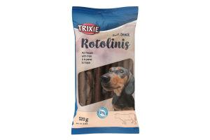 """Ласощі для собак """"Rotolinis"""" із шлунком 120 г (12 шт.),3155,Trixie"""