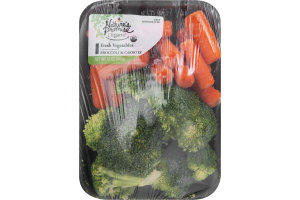 Nature's Promise Organic Fresh Vegetables Broccoli & Carrot Mix