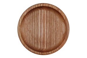 Тарілка-блюдце для закусок Коло Woodstuff 1шт