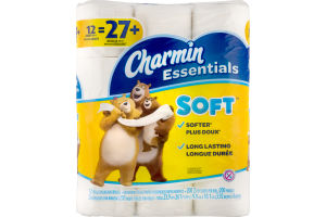 Chamin Essentials Soft Bathroom Tissue - 12 PK