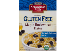 Arrowhead Mills Organic Gluten Free Maple Buckwheat Flakes