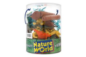 Набор игрушек для детей от 3лет №D33704 Динозавры Nature World 1шт