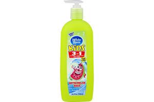 White Rain Kids 3 In 1 Shampoo + Conditioner Watermelon Wave