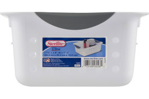Sterilite Small Ultra Basket White