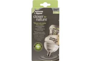 Tommee Tippee Closer To Nature Anti-Colic Bottle Slow Flow 0m+
