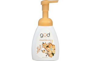 Gud from Burt's Bees Natural Vanilla Flame Foaming Hand Wash
