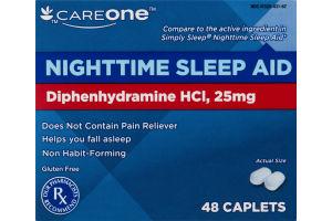 CareOne Nighttime Sleep Aid - 48 CT