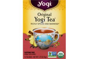 Yogi Original Yogi Tea Bags - 16 CT