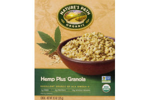 Nature's Path Organic Hemp Plus Granola
