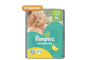 ПАМПЕРСЫ ACTIVE BABY МИНИ 3-6 КГ NEW 98 ШТ