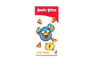 Пластилін Angry Birds 6 кольорів