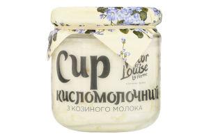 Сир кисломолочний 18% з козиного молока Victor et Louise с/б 200г