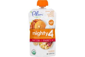 Plum Organics Mighty 4 Pumpkin, Carrot, Banana, Pomegranate, Greek Yogurt, Quinoa & Oat