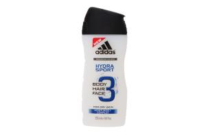Adidas гель-душ чол.Hydra Sport 3в1 250мл
