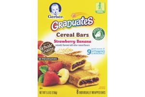 Gerber Graduates Cereal Bars Strawberry Banana - 8 CT