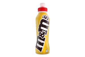 Коктейль молочний 1.2% ультрапастеризований з шоколадно-арахісовим смаком M&M`s п/пл 350мл