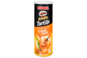 Чипсы кукурузные Tortilla Pringles к/у 160г