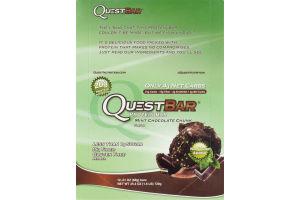 QuestBar Protein Bar Mint Chocolate Chunk - 12 CT