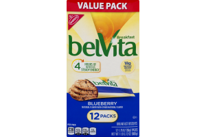 Nabisco belVita Breakfast Biscuits Blueberry - 12 PK