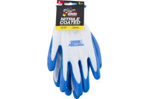 Grease Monkey Nitrile Coated Gloves