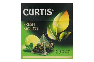 Чай зелений байховий ароматизований Fresh Mojito Curtis к/у 20х1.7г