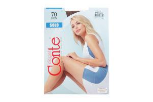 Колготки женские Conte Elegant Solo 70 shade р.3