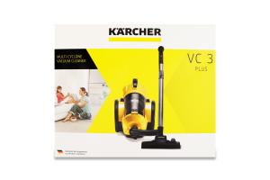 Пылесос с мультициклоным фильтром VC 3 Plus Karcher 1шт