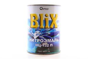 """ЕМАЛЬ НЦ-132П """"BLIX"""" ГОСТ ЧЕРВОНА 0,8КГ"""