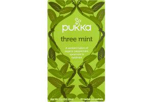 Pukka Tea Three Mint - 20 CT