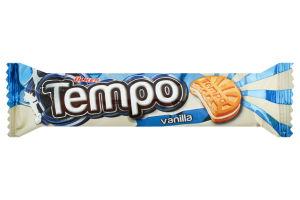 Печиво з ванільним кремом Vanilla Tempo Ülker м/у 72г