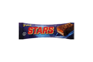 Батончик з нугою та карамеллю глазурований шоколадною глазур'ю Stars Vale м/у 50г