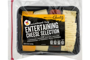 Ahold Assortment Tray Entertaining Cheese Selection Variety Pack