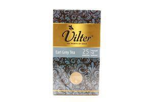 Чай черный с ароматом бергамота Earl Grey Vilter к/у 25х2г