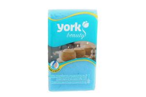 York Губка для ванни и массажу ПРЯМОКУТНА, 130 x 210 x 50 мм