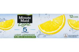 Minute Maid Light Lemonade - 12 PK