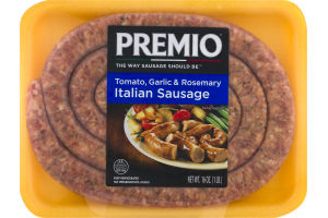 Premio Tomato, Garlic & Rosemary Italian Sausage