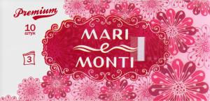MARI e MONTI хусточки паперові тришарові ароматизовані 10шт
