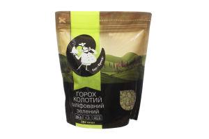Горох колотый шлифованный зеленый Еко-Бренд д/п 600г