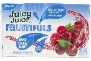 Juicy Juice Fruitifuls Berry Cherry Burst - 8 PK