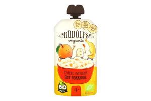 Каша овсяная Rudolfs персик-банан безмолочная