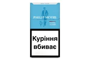 Сигареты Philip Morris Novel Silver