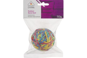 Smart Living Rubber Band Ball Assorted Colors