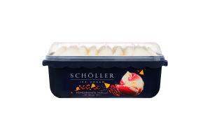 Мороженое ванильное с грейпфрутовым сорбетом и апельсиновым соусом Scholler п/у 633г