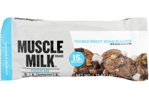 Muscle Milk Protein Bar Double Rocky Road