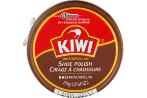 Kiwi Shoe Polish, Brown