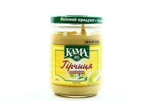 Горчица острая Русская Кама с/б 250г