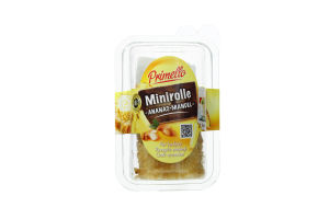 Сир Primello рулет ананасом та мигдалем 100г х12