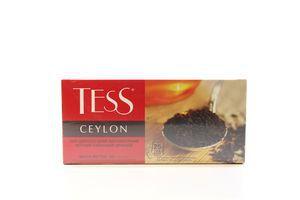 Чай черный Ceylon Tess к/у 25х2г