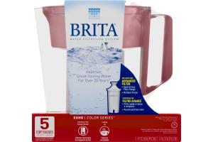 Brita Soho Color Series 5 Cup Pitcher